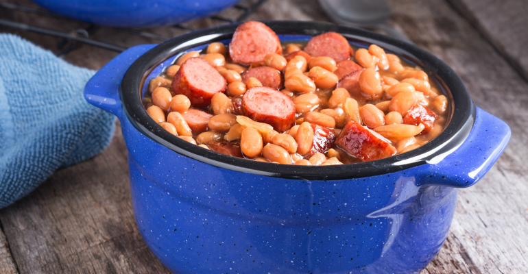 6 easy dinner recipes hot dog bean casserole